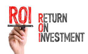 What do you mean by return on investment (ROI) ?